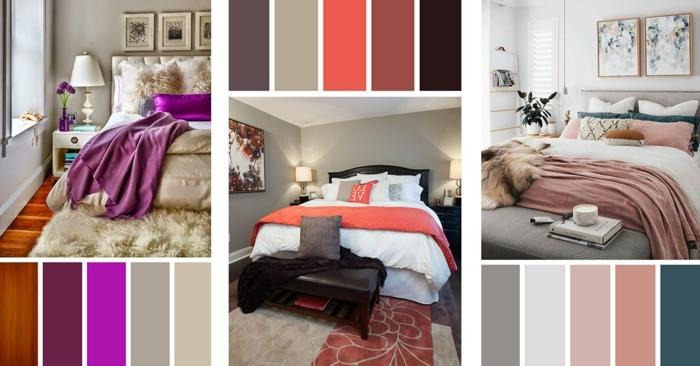 wandfarbe schlafzimmer beispiele wand streichen ideen zimmer dekorieren zimmergestaltung wandgestaltung