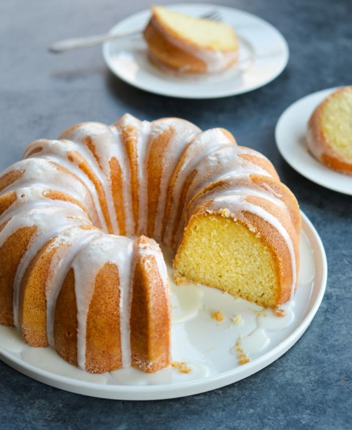 zitronen pfundkuchen klassischer kuchen kaffe oder tee rezepte sonntagkuchen heute einfach und schnell