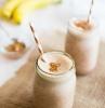 0 protein shake zum abnehmen selber machen eiweißshake rezept mit bananen und zimt gesund leben