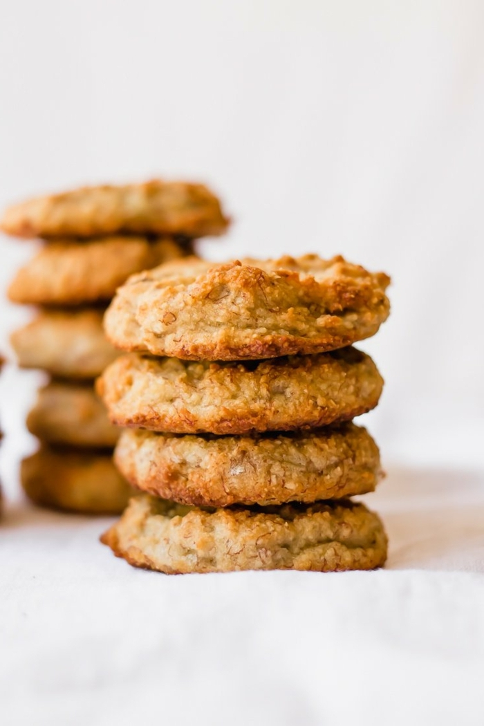 1 rezepte mit bananen kekse selber machen bananenkekse gesund paleo vegan backrezepte