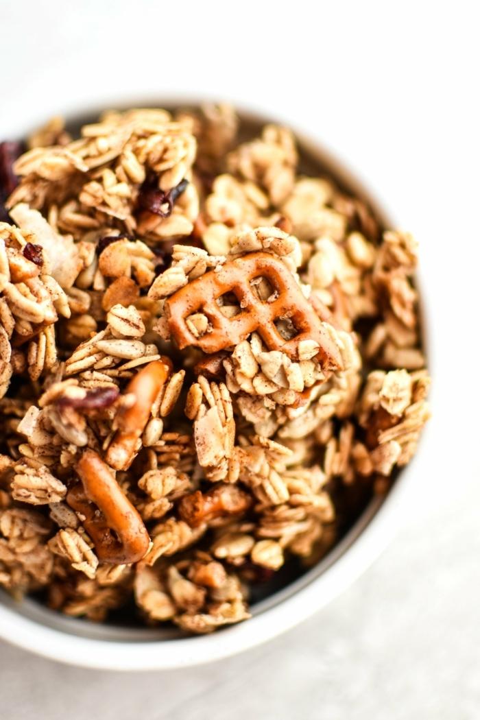 2 müsli selber machen selbstgemachtes granola müslirezepte gesundesa frühstück für sportler