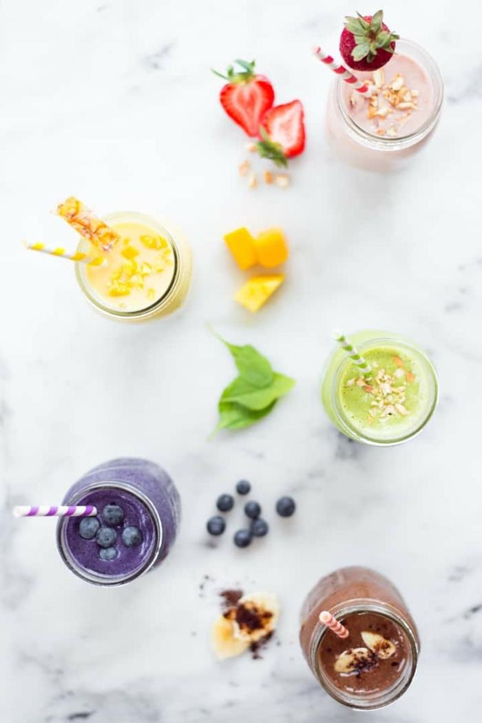 2 shakes zum abnehmen gesunde getränke für sportler gewicht schneller verlieren proteinshakes rezepte