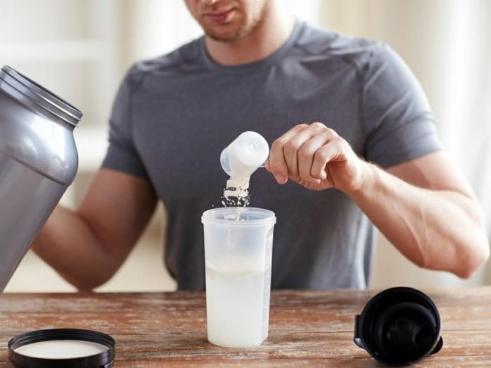 2 shakes zum abnehmen proteinshake rezepte und ideen getränke für sportler gewicht verlieren