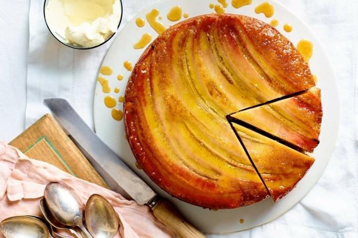 bananen kuchen rezept einfach bananenkuchen backen backrezepte ideen leckerer brunch