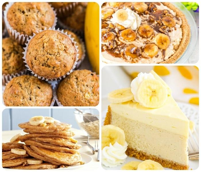 bananenmuffins ohne zucker gesunde rezepte nachtisch ideen käsekuchen mit bananen pfannkuchen mit honig bananenpie cucpakes