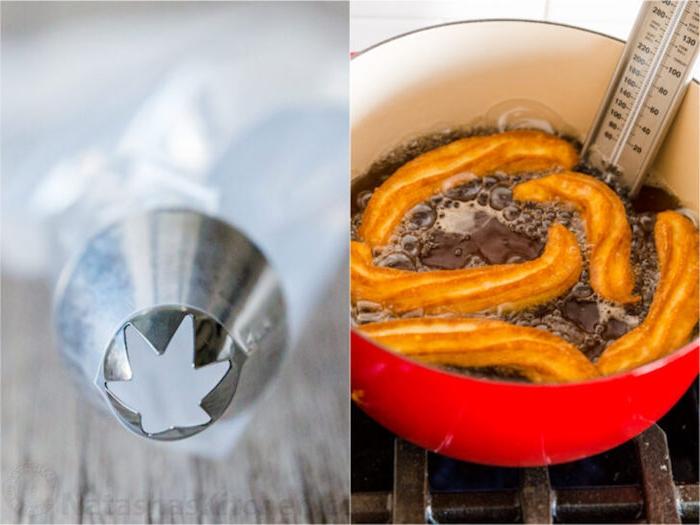 churros con chocolate rezept lange streifen spritzen eine schritt für schritt anleitung für spanische churros