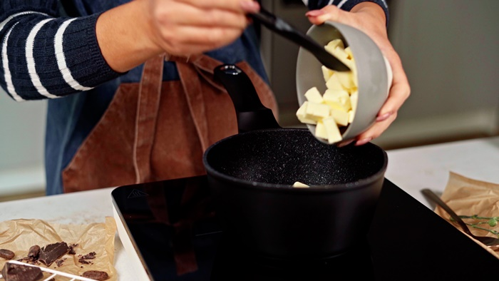 churros rezept schritt für schritt kleine süße gebäcke mit butter mehl und zucker