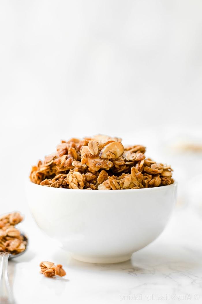 crunchy müsli selber machen backofen was ist granola die besten frühstücksrezepte knuspermüsli zubereitung