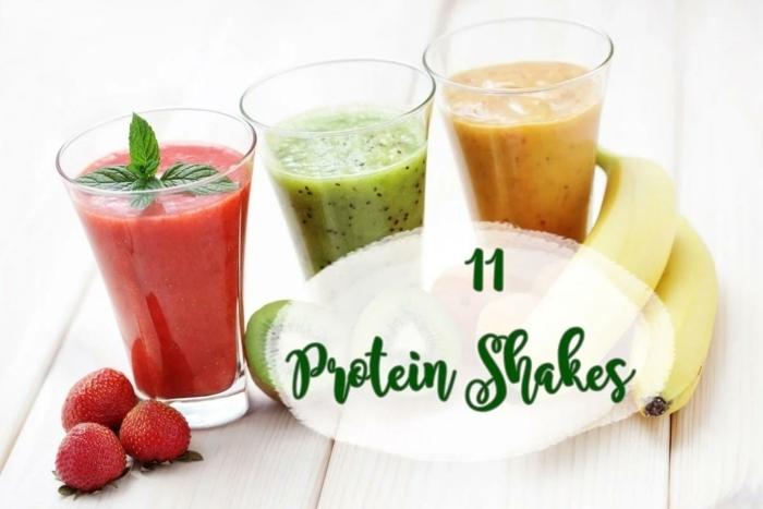 eiweißshake zum abnehmen gesunde shakes mit eiweißpulver getränke für trainierende proteinpulver