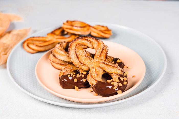 gebackene churros rezept archzine studio brunch selber machen