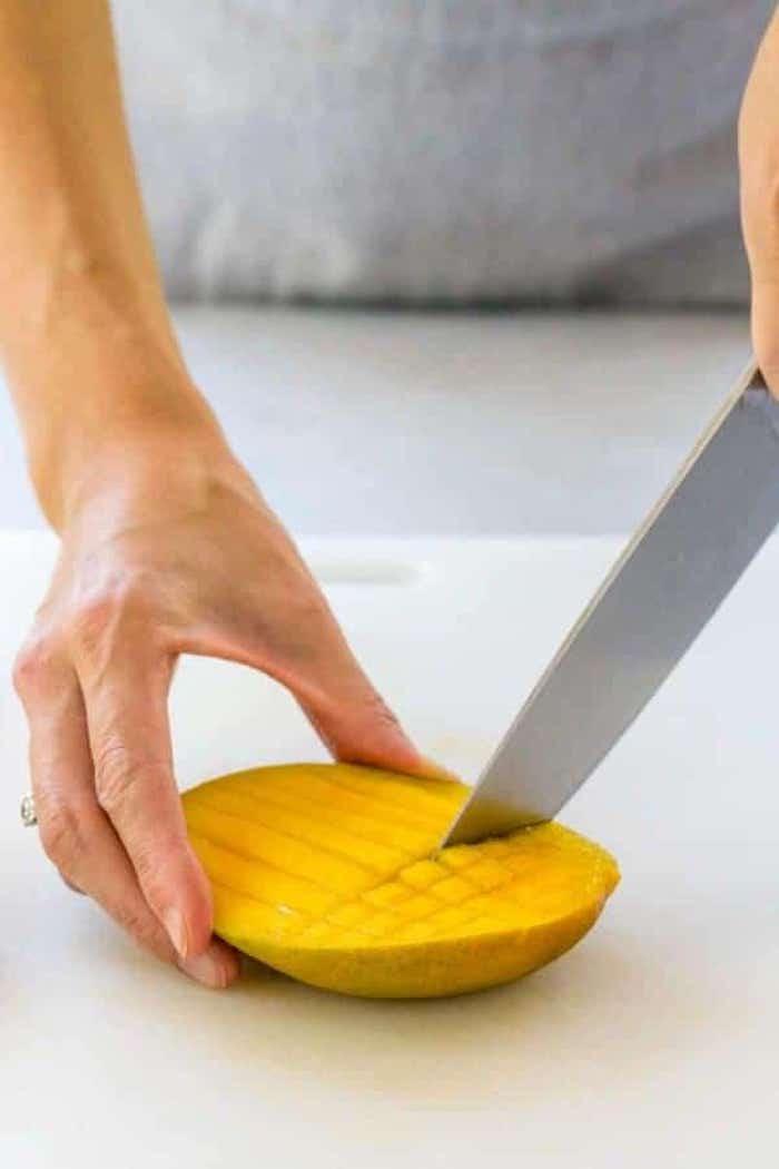 Mangos Genial Einfach Schälen Und Schneiden