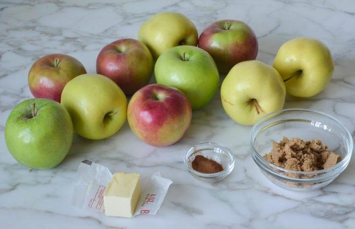 köstliches apfelmus selber machen die zutaten für ein köstliches apfelmus grüne äpfel und zimt schritt für schritt anleitung