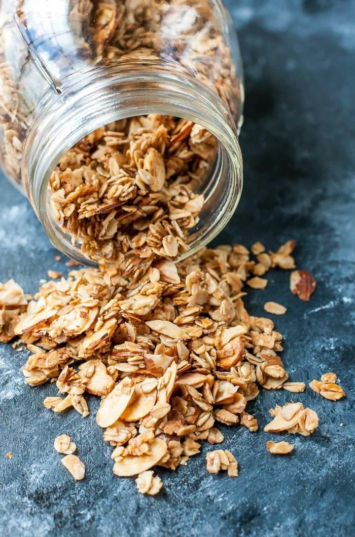 müsli ohne zucker selber machen gesundes granola zubereiten müslirezept einfach udn schnell