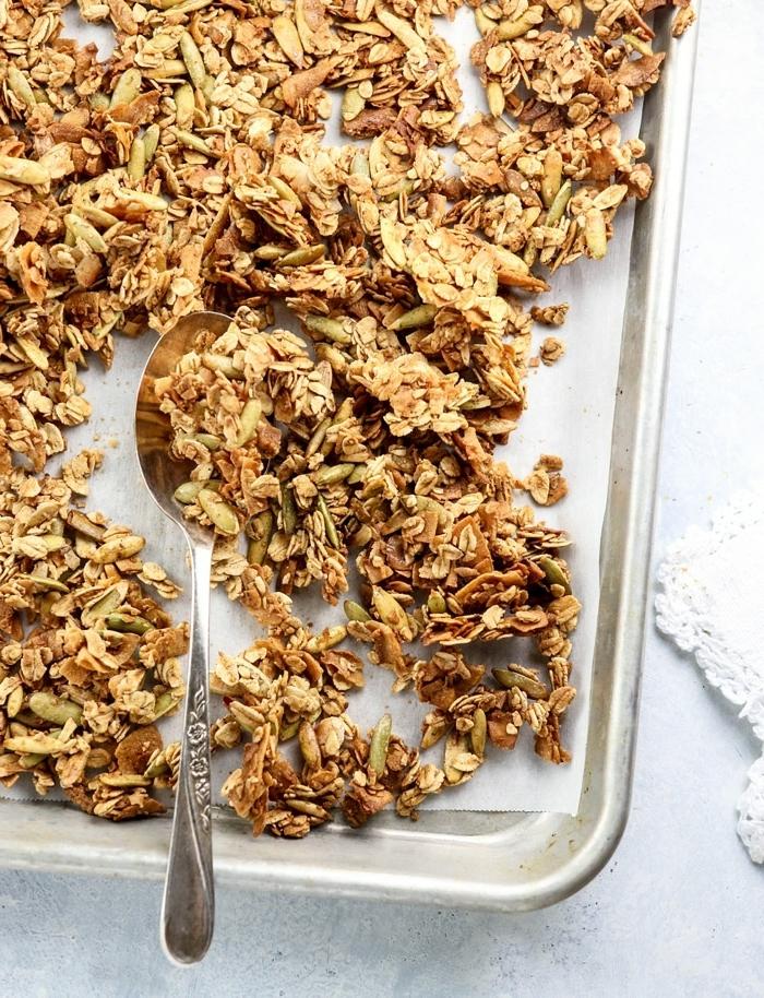 müsli ohne zucker selber machen granola rezept mit kokos wie macht man granola