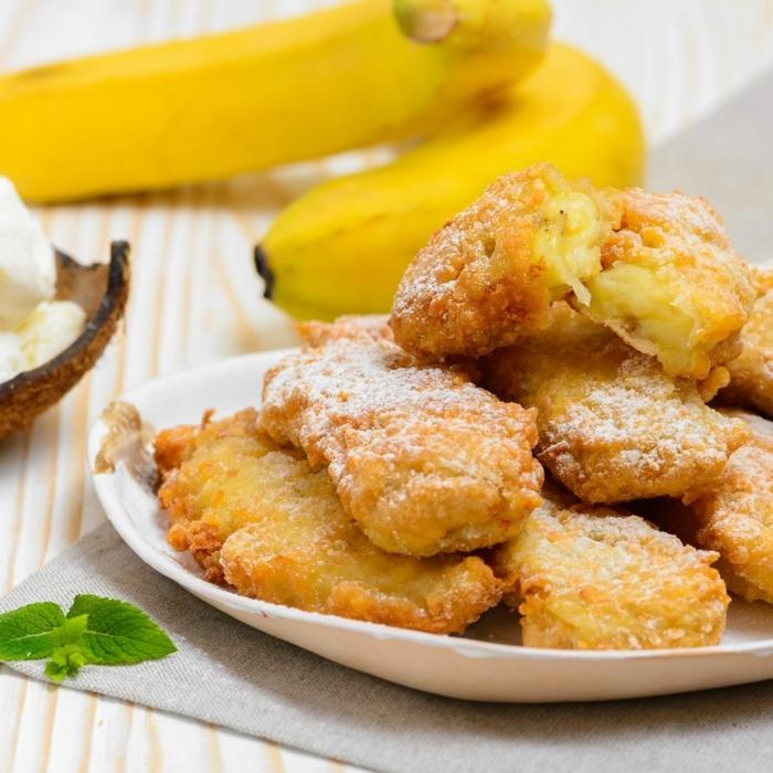 rezepte mit reifen bananen gebratene bananen einfache zubereitung bananenrezepte was kann ich zum brunch zubereiten
