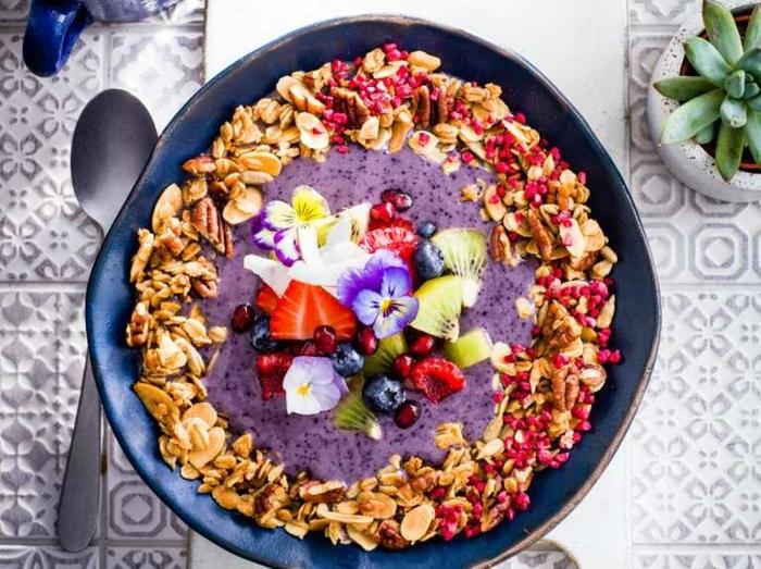 was ist granola leckere frühstücksrezepte gesund frühstücken fitness essen ideen müstlifrühstück