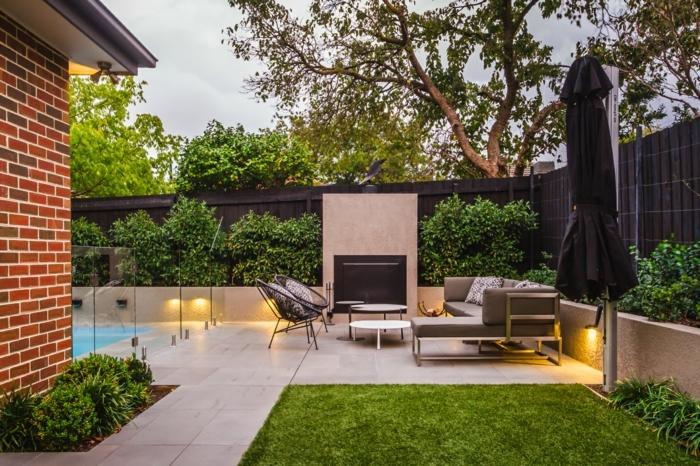 0 ideen für den garten hintergarten gestalten außenbereich gestaltungsideen sitzecke moderne gartenmöbel