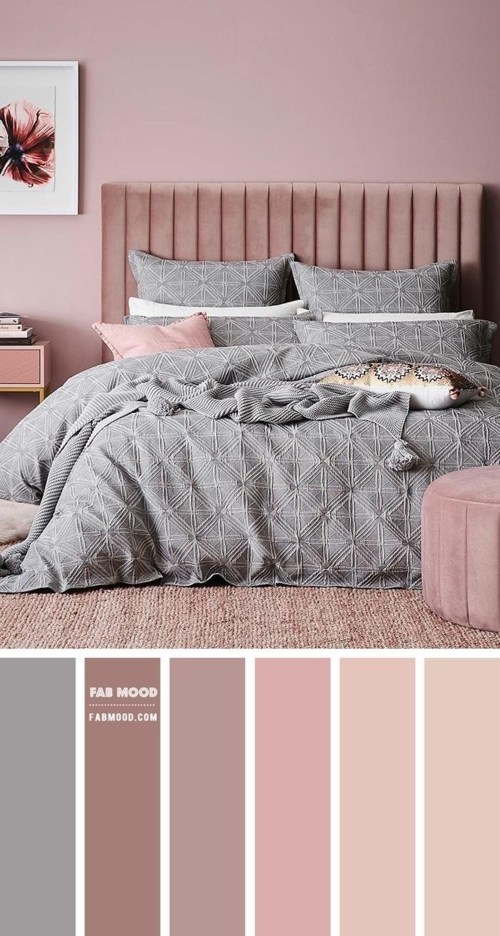 0 mauve farbe einrichtungsideen schlafzimmer gestalten wandfarbe ideen schlafzimmergestaltung farbpalette
