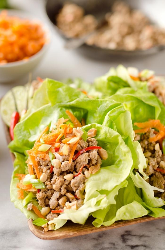 2 low carb abendessen schnelle einfache gerichte gesunde tacos mit hachfleisch und gemüse