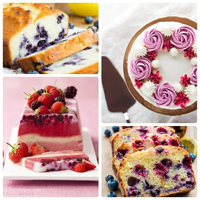 3 quarkkuchen mit früchten einfache nachtisch ideen dessert rezepte blaubeerkuchen mit joghurt