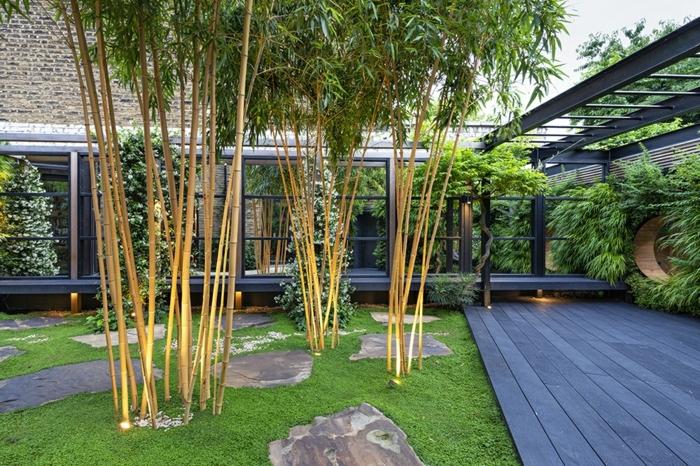 deko für den garten gartendeko ideen pflanzen gartenpflanzen kleiner außenbereich sichtzschutz beispiele