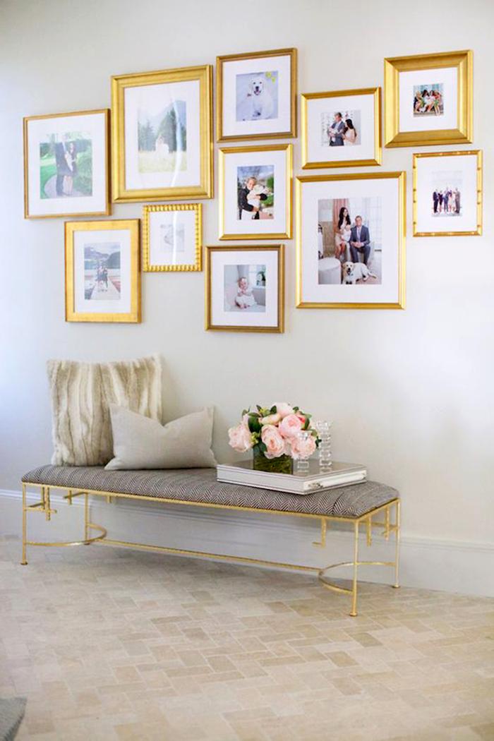 fotorahmen in gold zur goldenen hochzeit schenken geschenkideen ideen zur goldenen hochzeit der eltern
