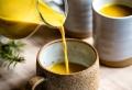 Schnelles Rezept für gesunde Goldene Milch