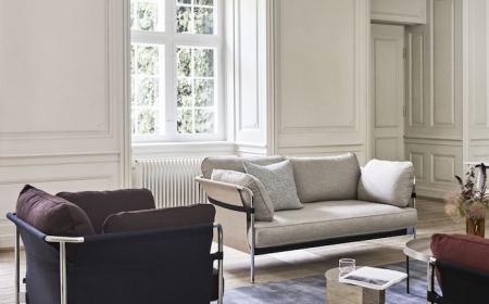 hay sessel wohnzimmer einrichten scandi style weiße wände minimalismus innenausstattung danish design inspo wohnung