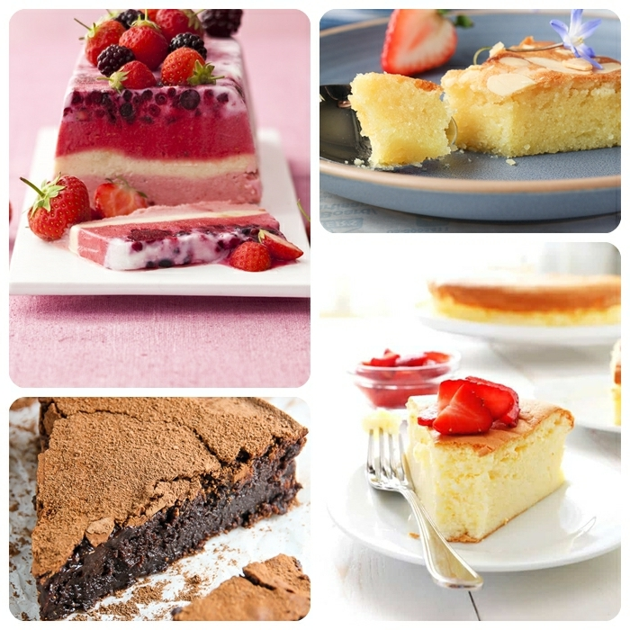 kuchen ohne zucker joghurtkuchen mit beeren cheesecake mit vanille schokokuchen mit kakao schnelles dessert