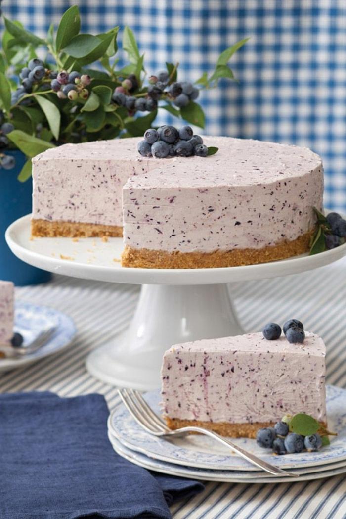 kuchen ohne zucker und mehl einfacher joghurtkuchen mit frischkäse frischkäsekuchen mit joghurt und blaubeeren