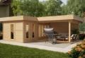 Moderne Gartenhäuser können jeden Garten verschönern