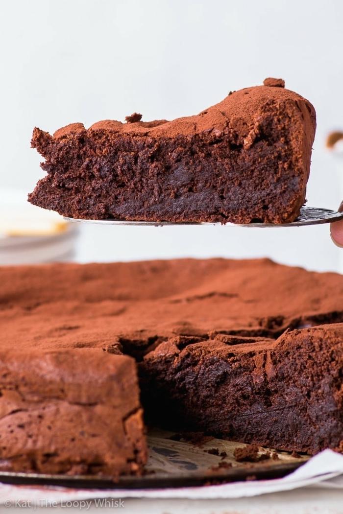 schokokuchen ohne zucker nachtisch ideen gesund kuchen rezept mit kakao kakaokuchen ohne mehl