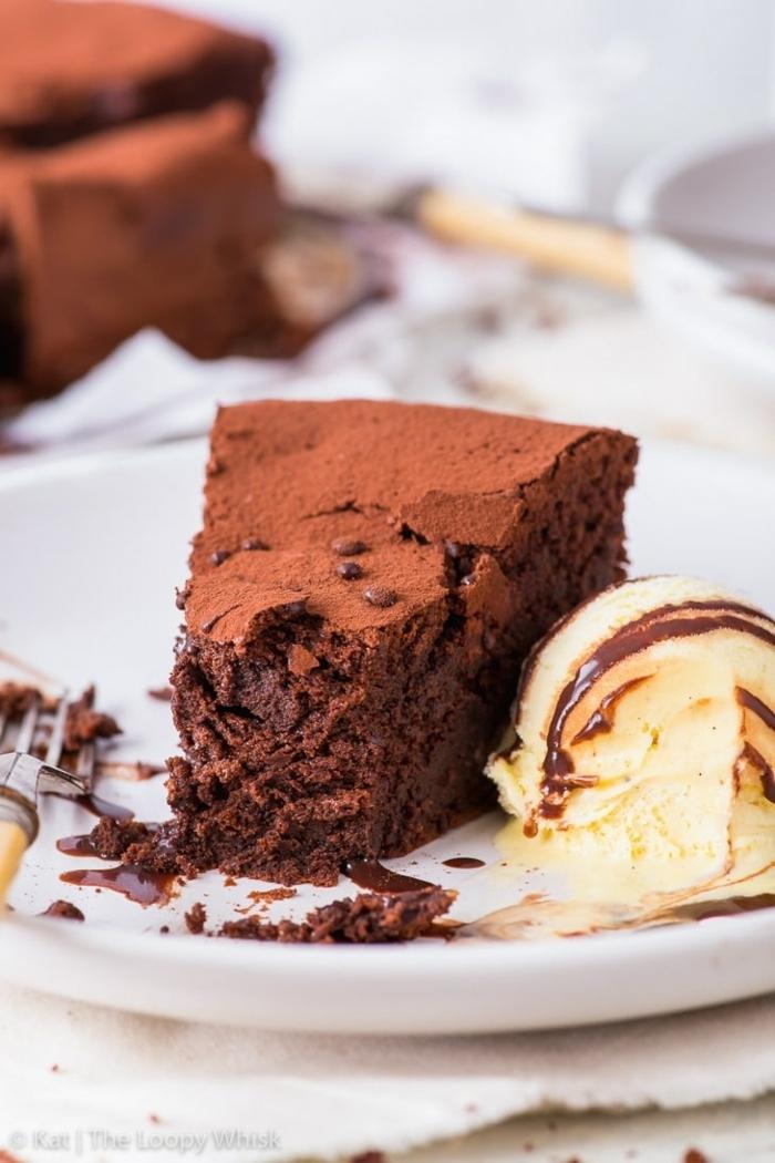 schokokuchen ohne zucker zuckerfreier kuchen mit schokolade nachtisch ideen schokotorte