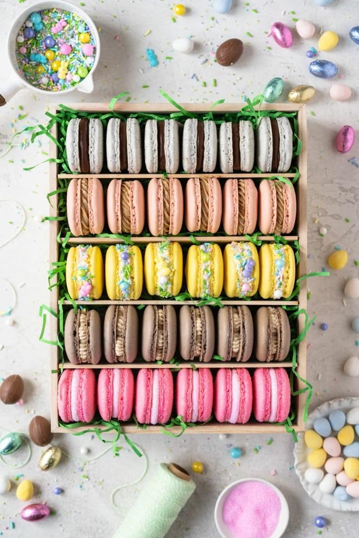 0 macarons selber machen rezepte und ideen selbstgemachte macaronen in box geschenk für frau