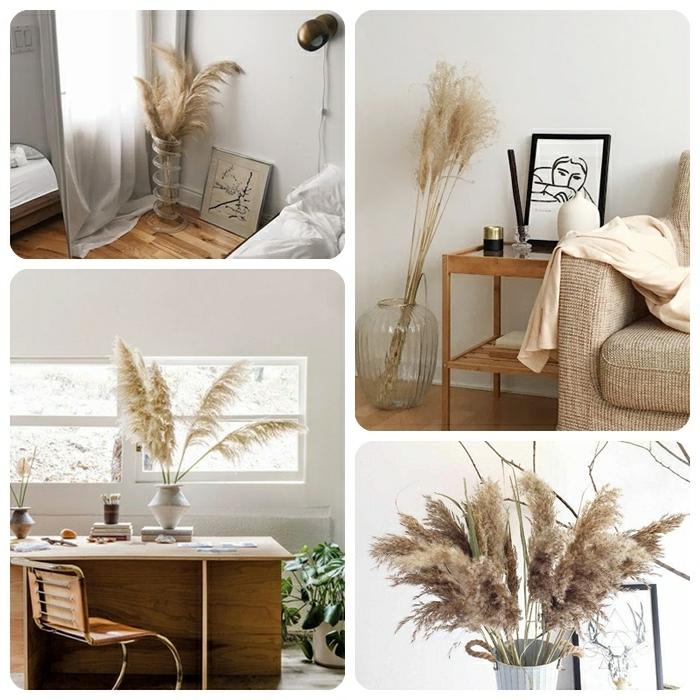 0 pampasgras deko für die wohnung wohnungsdeko beispiele tolle dekoideen fürs zimmer home office verschönern