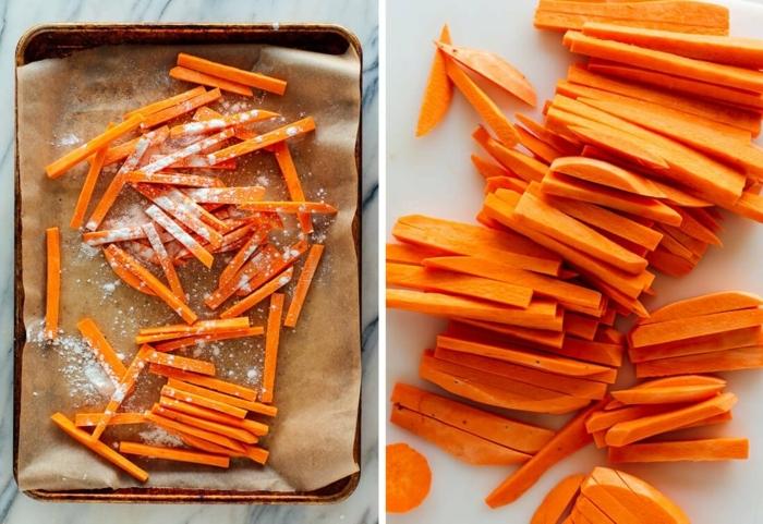 1 chips selber machen aus süßkartoffeln kartoffelchips im ofen schritt für schritt zubereitung einfaches rezepte