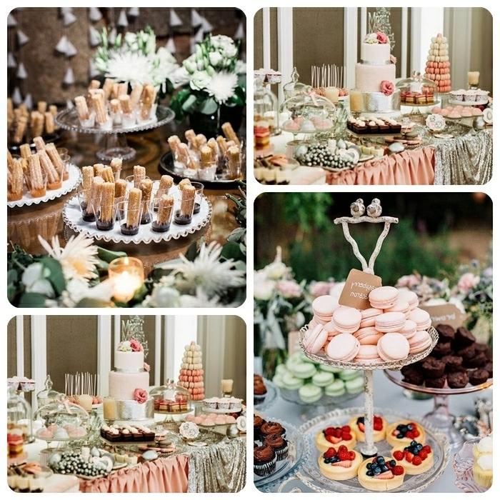 5 candybar ideen hochzeit planen inspirationen hochzeitstag hochzeitsfood kleine süße desserts fingerfood süß