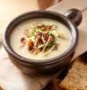 brot u nd eine decke rezept für kartoffelsuppe mit würstchen und petersile