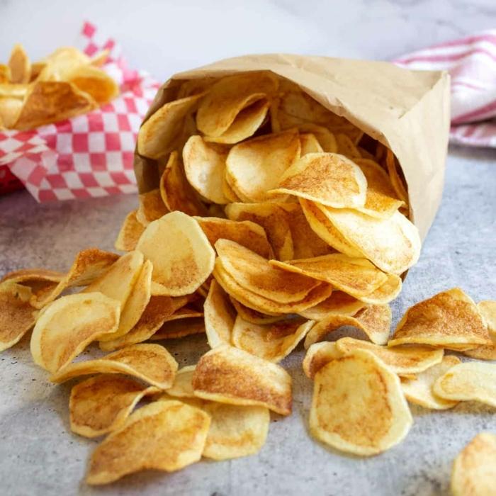 chips selbst machen ofen leckere parytrezepte rezepte für party partyessen inspirationen selsbtgmachte kartoffelchips