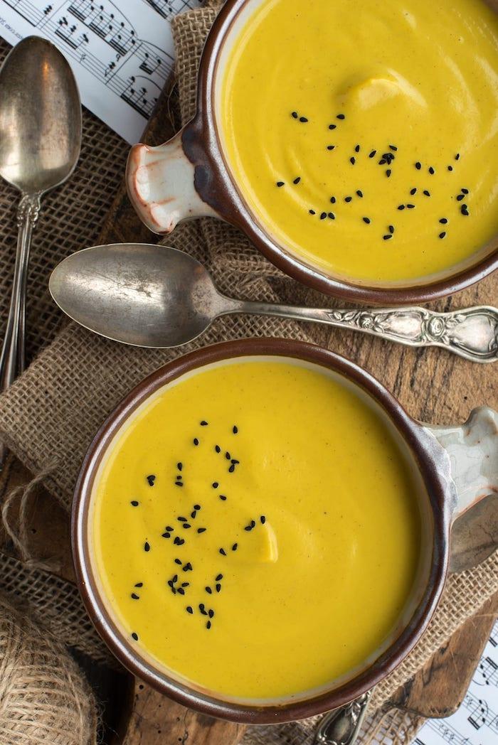 detox kur entschlacken suppe gluten free blumenkohl kremsupe