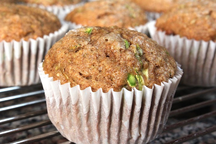 detox kur selber machen zucchini muffins und vollkorn mehl
