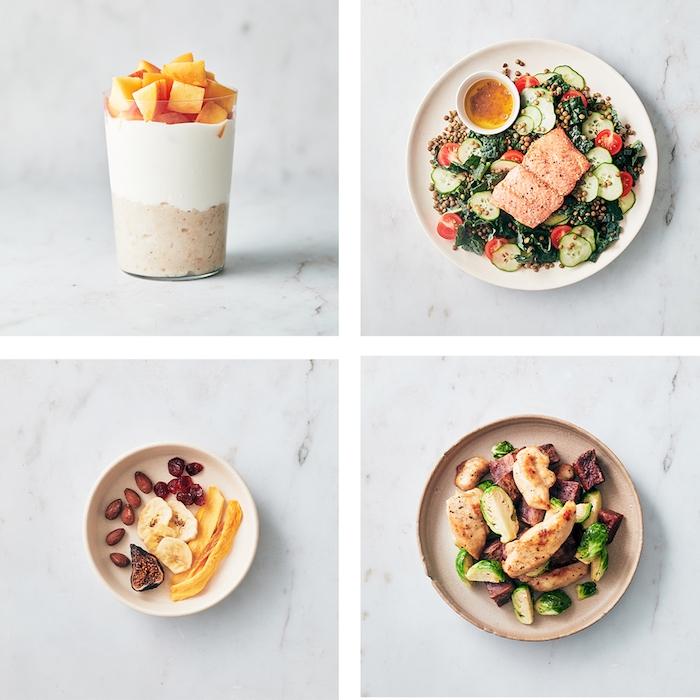 essenzubereitung für den ganzen rag frühstück smoothie salat mittagessen haferflocken snack hähnchen abendessen leichte rezepte