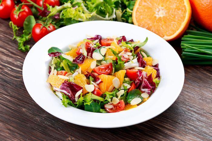 esskastanien rezept salat mit gartenlattich kastanien und grapefruit frisch und vitaminos schüssel