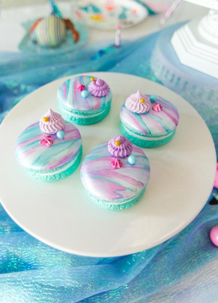 füllung für macarons partyfood partyessen marble makaronen schritt für schritt zubreitung kleine desserts mit creme