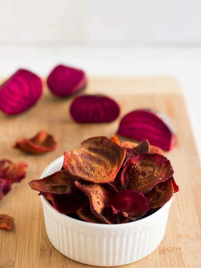 gesunde chips selber machen aus roter beete rezepte mit gemüse picknick food picknickessen