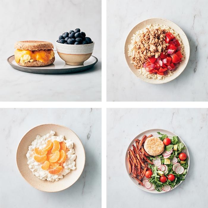 ideen essenzubereitung frühstück mittagessen snack abendessen einfache rezepte zum abnehmen gesunde gerichte für den ganzen tag