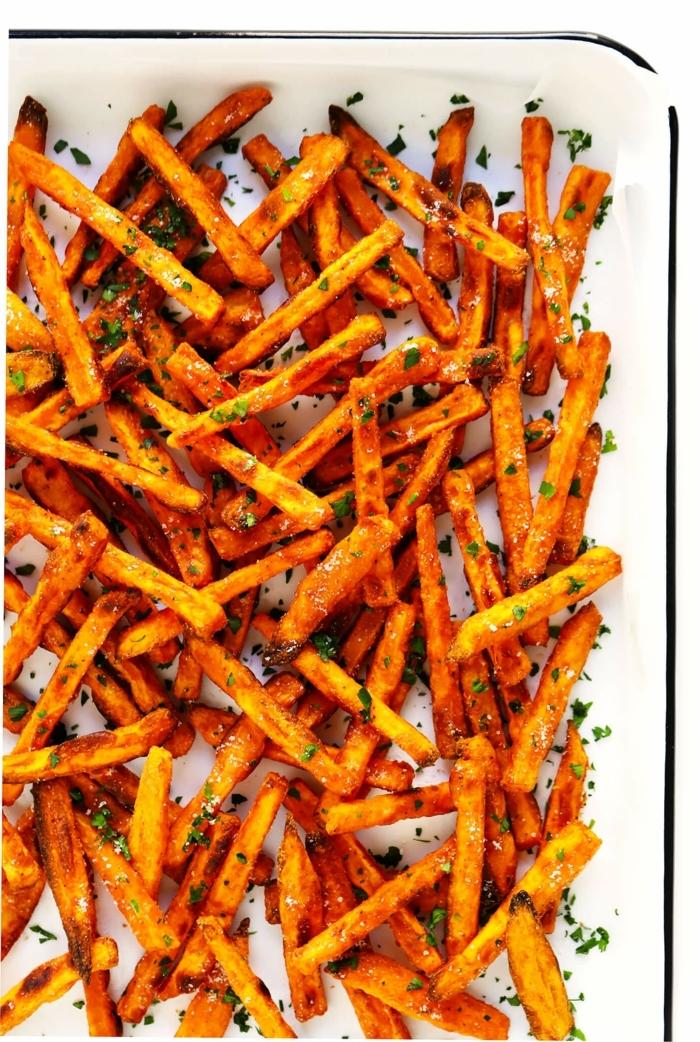 kartoffelchips selber machen backoffen schnelle partyrezepte picknick essen ideen selbstgemachte chips