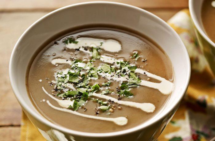 kastanien kaufen masronen rezepte suppe aus maronen zubereiten pürieren und kochen schnell