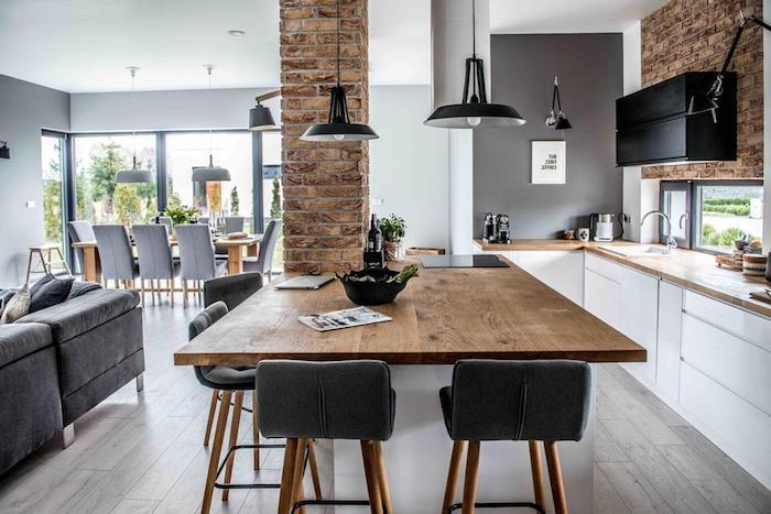 küchenlösungen für kleine küchen l form ikea tisch aus holz