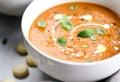 Einfaches Rezept für eine köstliche gesunde Kürbissuppe mit Kokosmilch